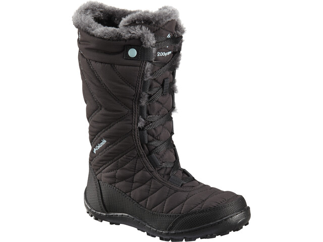 Columbia Minx Mid III WP Omni-Heat Boots Kids black/iceberg